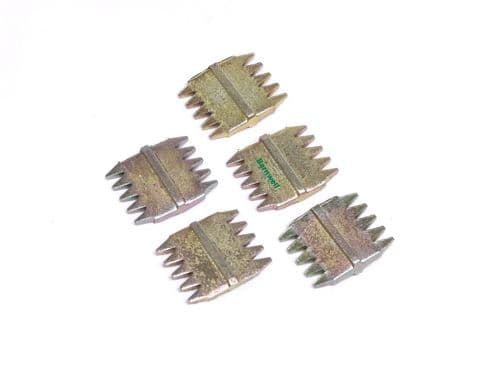 """Barnwell 1"""" Scutch Chisel Combs Pack of 5"""